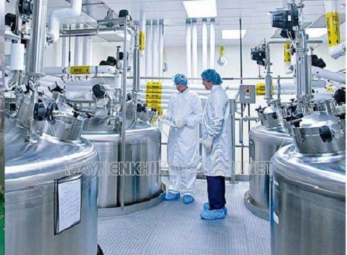 Máy nén khí không dầu được sử dụng trong ngành y dược