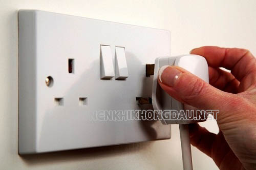 Cần kiểm tra lại nguồn điện khi máy nén khí không chạy