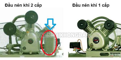 đầu máy nén khí piston 1 cấp và 2 cấp