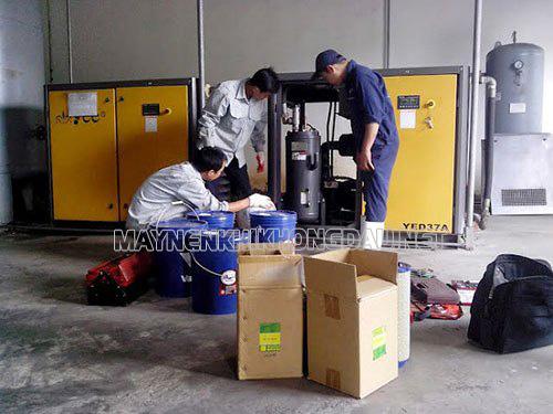Bảo dưỡng máy nén khí trục vít định kỳ