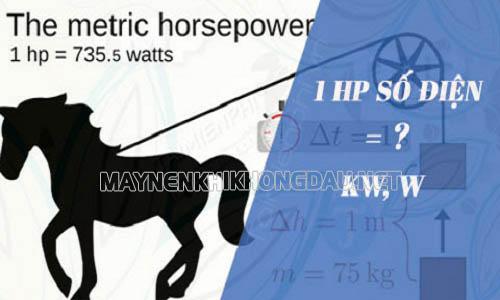 1 HP bằng bao nhiêu Kw