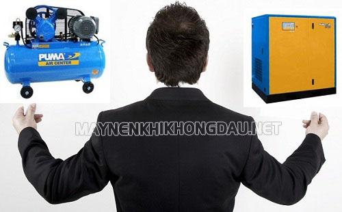 Chọn công suất máy nén khí cần đảm bảo đáp ứng đầy đủ cho hệ thống dây chuyền sản xuất