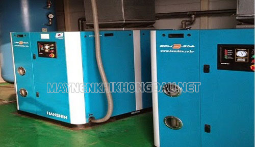 Bảo dưỡng máy nén khí Hanshin định kỳ giúp máy hoạt động ổn định