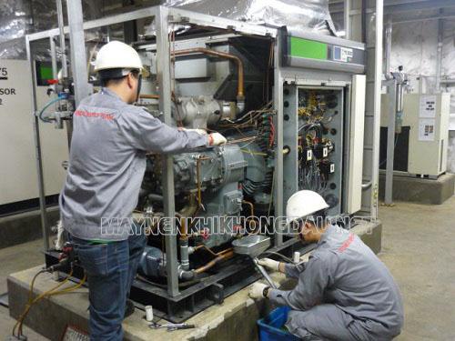 Hướng dẫn bảo dưỡng định kỳ máy nén khí Hanshin