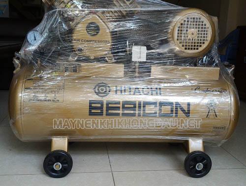 Máy nén khí Hitachi 2hp có thiết kế nhỏ gọn, cơ động