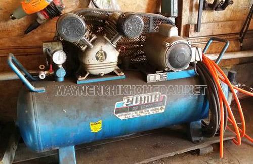 Máy nén khí Puma cũ hiệu suất thấp, tiêu tốn nhiều điện năng