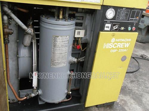 Máy nén khí trục vít Hitachi Hiscrew 37 Kw sở hữu công suất lớn hiệu suất cao