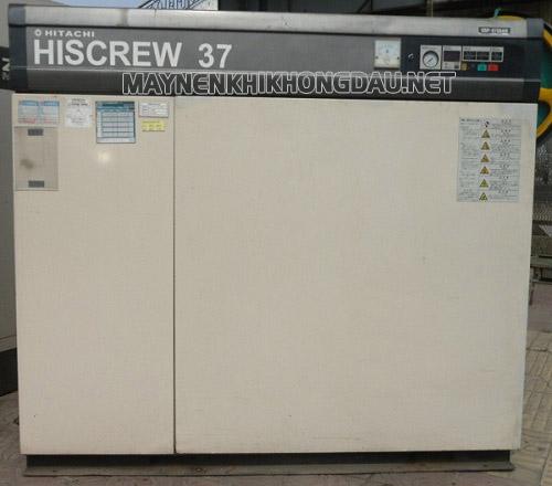Máy nén khí trục vít Hitachi Hiscrew 37 Kw