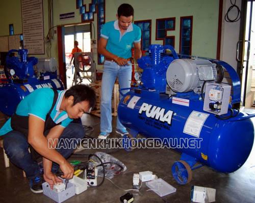 Cách khắc phục sự cố máy nén khí ra nhiều nước