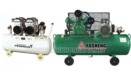 So sánh máy nén khí Fusheng và Pegasus