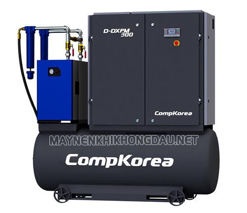 Máy nén khí trục vít Compkorea có hiệu suất làm việc cao hơn Palada