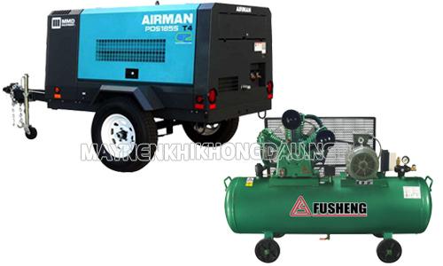 So sánh máy nén khí Fusheng và Airman