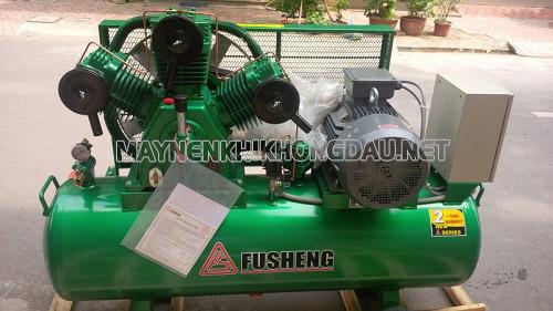Máy nén khí Fusheng được ứng dụng nhiều trong ngành cơ khí, chế tạo và bảo dưỡng xe