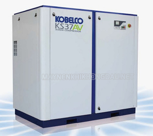 Máy nén khí trục vít không dầu Kobelco được đánh giá cao về chất lượng khí
