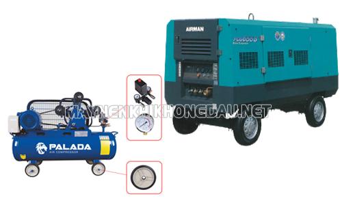 So sánh máy nén khí Palada và Airman