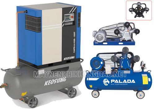 So sánh máy nén khí Palada và Keosung