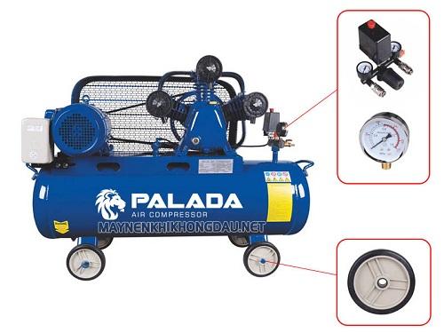 Máy nén khí piston 3 đầu nén giúp cung cấp lưu lượng khí nén ổn định liên tục