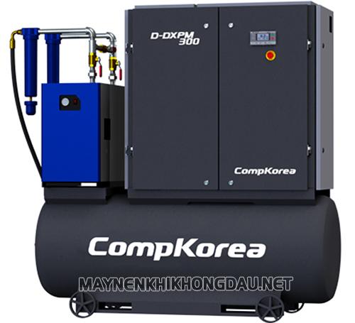 Máy nén khí Compkorea dễ sử dụng với những chức năng