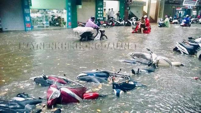 Cách sử lý xe máy bị ngập nước