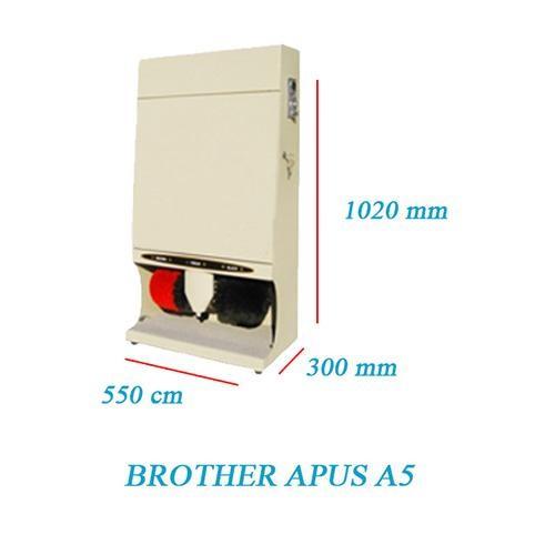 Brother Apus A5 có kích thước nhỏ gọn