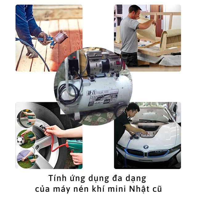 Máy nén khí cũ được sử dụng nhiều trong cuộc sống