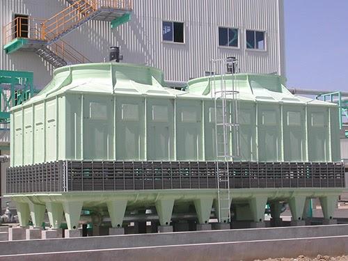 Tháp giải nhiệt TSB 500 được lắp đặt trong nhiều không gian khác nhau