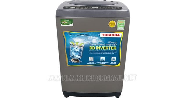 Máy giặt Toshiba cửa trên được trang bị công nghệ Inverter hiện đại.