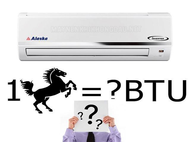 Cách để nhận biết máy lạnh có bao nhiêu ngựa?