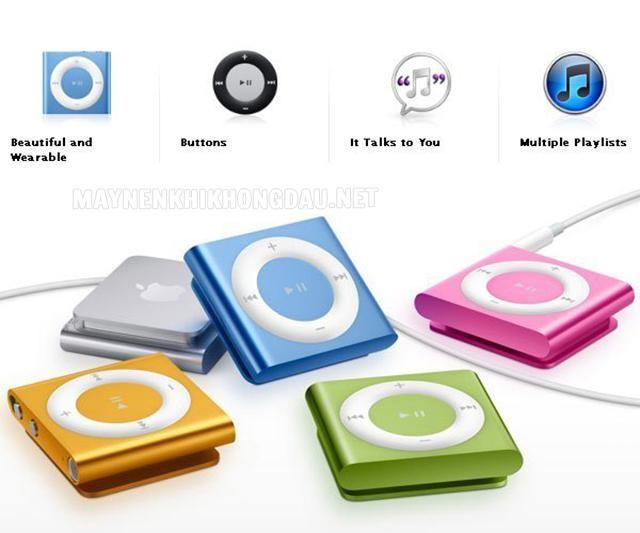 Kích thước của iPod vô cùng nhỏ gọn.