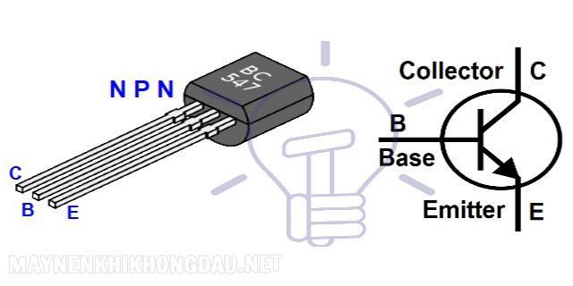 Công dụng của Transistor là Điện trở Base (Điện trở cực Gốc).