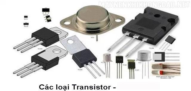 Transistor được phân ra làm 2 loại là NPN và PNP.