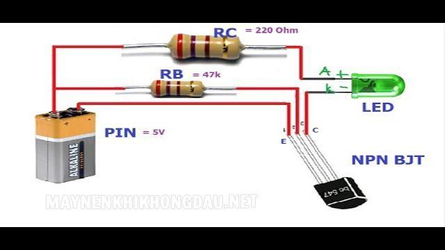 Tác dụng của Transistor là công tắc transistor