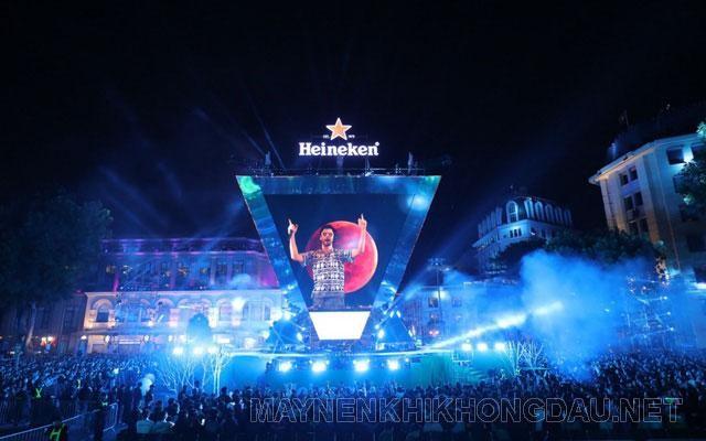 Buổi Countdown chào đón năm mới tại Hà Nội