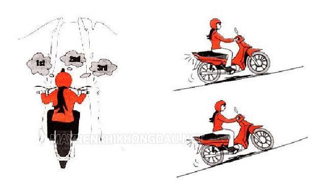 Sang số xe máy như nào là đúng?