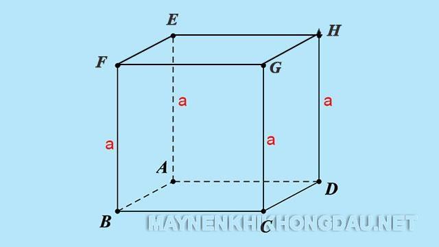 Nối các đỉnh E, F, G, H lại với nhau