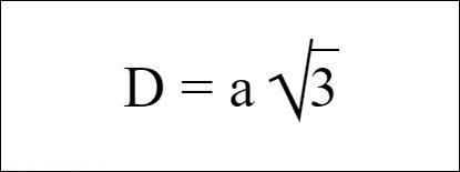 Công thức tính đường chéo hình lập phương