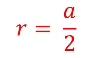 Công thức tính mặt cầu nội tiếp của hình lập phương