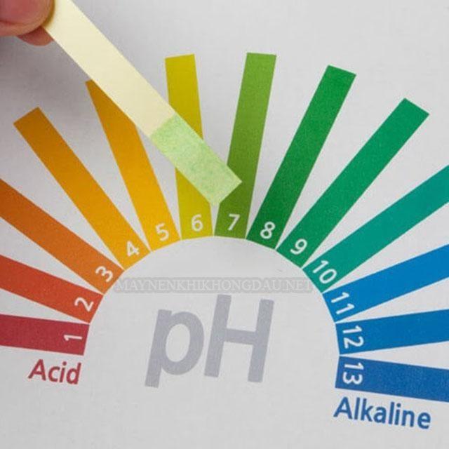 Quỳ tím được sử dụng để đo độ PH