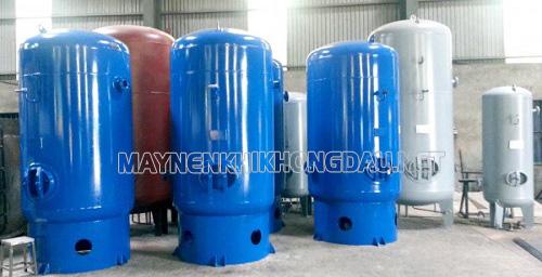 Vị trí lắp đặt bình chứa khí trong hệ thống khí nén