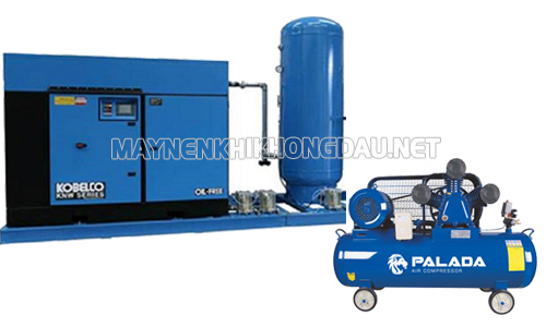 So sánh máy nén khí Palada và Kobelco