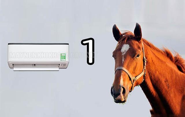 Máy lạnh một ngựa là gì?