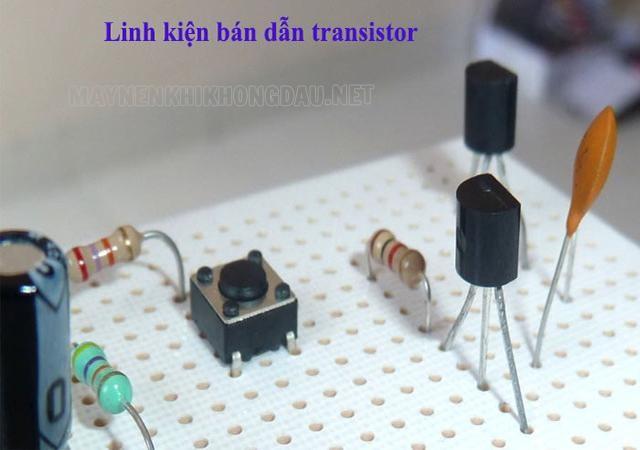 Tìm hiểu về Transistor.