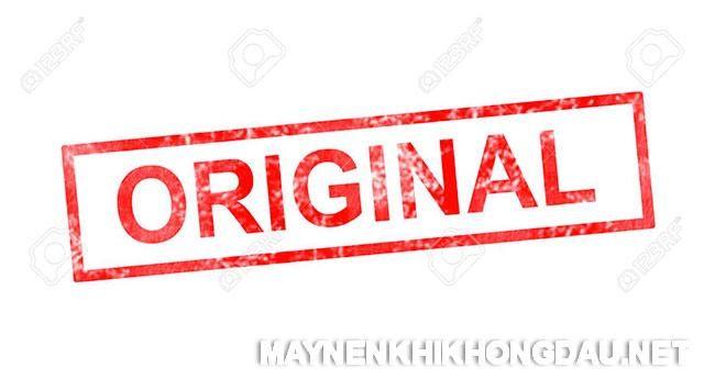 Original nghĩa là gì?